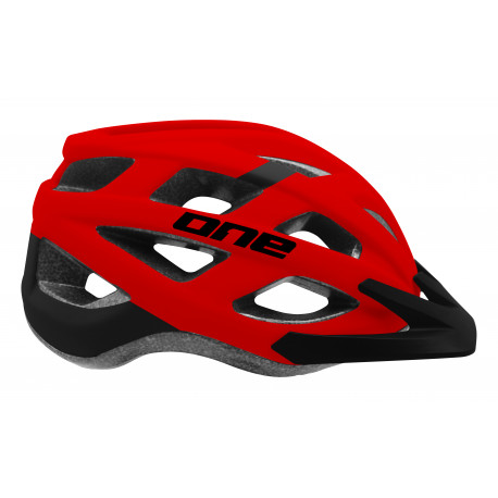MTB FUN black/red M-L (58-62cm)
