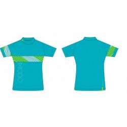 dres MODO Race dámský turquoise 017 L