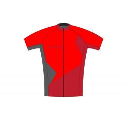 dres SUP pánský volný červeno-šedý M